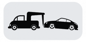 Cost for towing a car